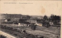 Thematiques 51 Marne Sainte Ménehould Vue Panoramique De La Gare - Sainte-Menehould