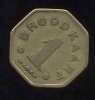 BROODKAART VOORUIT  KOPEREN STUK - Münzen