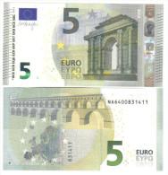 5 € NEW AUSTRIA N004D6 NA DRAGHI Cod.€.077 - EURO