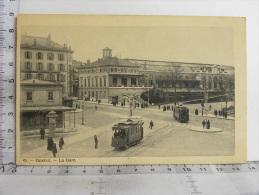 CPA SUISSE - GENEVE - La Gare - GE Genève