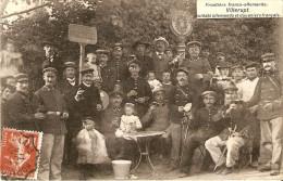 Villerupt 54 Soldats Allemands Et Douaniers Francais Frontiere Franco-allemande - Francia