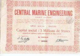 Central Marine Engeneering - Antwerpen - 1928 - Navigation