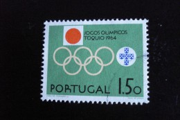 Portugal - Année 1964 - 1e50 Jeux Olympiques à Tokyo - Y.T. 951 - Oblitéré - Used - Gestempeld - 1910-... République