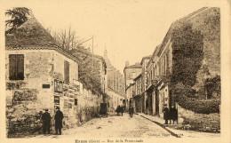 EAUZE (32) Rue De La Promenade Animation - Non Classés