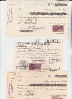 LOT DE  30 RECUS DE LA MAISON SINGER  -ANNEE 1940-41 - Bills Of Exchange