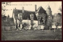 Cpa Du 35 Le Chatellier L´ Ancien Manoir De La  Vieuville ..  Saint Brice En Cogles Fougères NAT16 - Fougeres