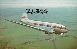 AVIATION CIVILE : ANNÉE: ~ 1970 : BIMOTEUR à HÉLICES : NAC DOUGLAS DC 3 - SKYLINER - NEW ZEALAND AIRWAYS - QSL (p-709) - 1946-....: Moderne