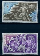 """Monaco YT 1387 Et 1388 """" Croix-Rouge Monégasque : Hercule, 2 TP """" 1983 Neuf** - Non Classés"""