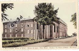 """HENRI-CHAPELLE - Maison De Beloeil - Maison De Repos - Carte Colorée Au Dos """"Auberge De La Gare"""" Café-Restaurant-Hôtel - Welkenraedt"""