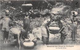 ¤¤  -   Missions Des Pères Du St-Esprit   -  La Corvée D'Eau    -  ¤¤ - Postcards