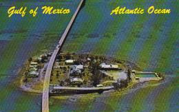 Florida Aerial View Pigeon Key &amp amp  Seven Mile Bridge Curte