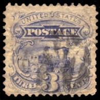 ~~~ United States 1869 -  Locomotive - Scott 114 / Michel 28 - CV 20.00 US$ / 18.00 Euro  ~~~ - 1847-99 Algemene Uitgaves