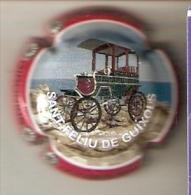 PLACA DE CAVA TROBADA RODAMOS DE UN COCHE DE EPOCA - CAR (CAPSULE) SANT FELIU DE GUIXOLS - Sparkling Wine