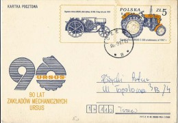 Poland Pologne, Ursus Factory, Polish Producer Of Agricultural Machinery, Tractor, Agriculture, 1983. - Landwirtschaft