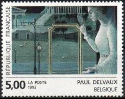 FRANCE Poste 2781 ** Tableau De Paul DELVAUX : Le Rendez-vous D´Ephèse Peinture Paint Mahler - Neufs