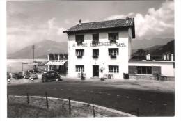 """Italy - Santa Croce Al Lago - Belluno - Albergo Bar Ristorante Bolognese """" Da Beppe Sello """" - Cars - Autos - Cabriolet - Belluno"""