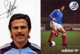 "FOOTBALL  ""  EQUIPE  DE FRANCE 1982  ""  CHRISTIAN  LOPEZ    ""    CPSM 10 X 15 - Calcio"