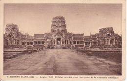 CPA Ruines D'Angkor - Angkor-Vath, Entrées Occidentales (2436) - Cambodia