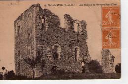 St-Witz..animée..les Ruines De Montmélian - Saint-Witz