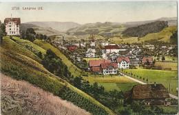 Langnau Im Emmental - Dorf Von Westen          1908 - BE Berne