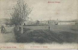 43Fc   88 Arnould Les Papeteries Du Souche (vue Pas Courante) - Anould