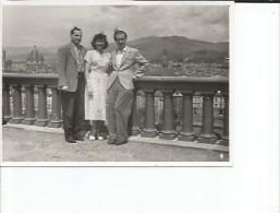 NAPOLES  ITALIA   HOMBRE  MUJER   CIRCA 1948  PEQUEÑA FOTOGRAFIA    OHL - Anonymous Persons