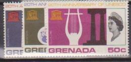 Grenada, 1966, SG 250 - 252, Complete Set Of 3, MNH - Grenada (...-1974)