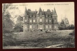 Cpa Du 35  Le Chatellier  Le Château De Vieuville Environs De Fougères NAT15 - Le Châtellier