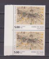 """FRANCE / 1993 / Y&T N° 2835 ** : """"Gravure Rehaussée"""" (Vieira Da Silva) X 2 En Paire BdF  - Gomme D'origine Intacte - Neufs"""