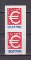 FRANCE / 1999 / Y&T N° 3215 ** Ou AA 24 ** (x 2 En Paire) : TP Euro (de Carnet) - état D'origine - Adhesive Stamps