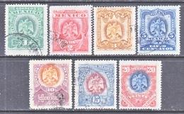 MEXICO  294-300  (o) - Mexico