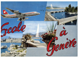 (M+S 230) Avion A Genève - Switzerland - 1946-....: Moderne