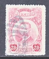 MEXIICO  615 A   (o)    ROSE - Mexico