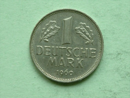 1960 G - 1 Mark / KM 110 ( Uncleaned - For Grade, Please See Photo ) ! - 1 Mark