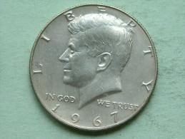 1967 - Half Dollar ( $ ) KM 202a ( Details Zie Foto ) ! - Federal Issues