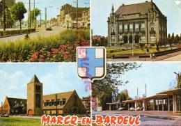 59 - MARCQ EN BAROEUL - LE CROISE LAROCHE - HOTEL DE VILLE - EGLISE ST PAUL- HIPPODROME DES FLANDRES - Marcq En Baroeul