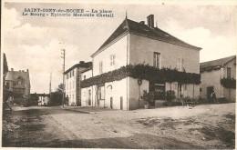 71 - ST IGNY DE ROCHE,  EPICERIE-MERCERIE CHETAIL - LA PLACE - LE BOURG