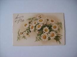 Carte Postale Ancienne -Bonne Fête-Marguerites - Other