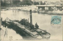 89 SENS / Le Remorqueur Et La Navigation Sur L'Yonne / - Sens