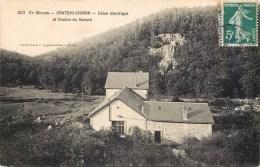 CHATEAU-CHINON USINE ELECTRIQUE ET ROCHER DU RENARD 58 - Chateau Chinon
