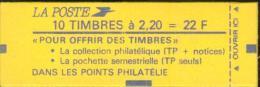 Carnet Liberté De Delacroix - Y&T N° 2376-C5 ( Pour Offrir Des Timbres )  Confectionneuse 9. Carnet Non Ouvert. - Usage Courant