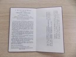 Doodsprentje Virginie Missiaen Moorslede 25/10/1892 Wervik 21/6/1959 ( Henri Biesbrouck ) - Religión & Esoterismo