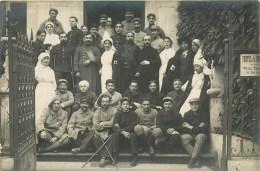 03 - VICHY - Carte Photo - ** Hôpital Militaire Temporaire N°12 - Hôtel Du Portugal**- Service De Santé Des Armées - Vichy