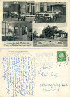AK Pforzheim, Gasthaus Buckenberg, Gastraum, Metzgerei Fleischerei - Pforzheim