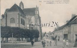 ESSOMES - N° 226 - LA PLACE DE L'EGLISE - France