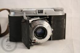 VOIGTLANDER VITO II 35mm Folding Camera/ Bellows Camera With Original Leather Case - Appareils Photo