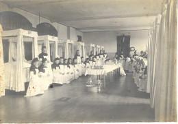 PHOTOS ARGENTIQUE   LES DAMES DU CALVAIRE A FOURVIERE LYON  VERS 1900.... - Photographs