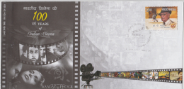 India 2013  O.P. Nayyar  100 Years Of Indian Cinema Private FDC No. 47 Of 50 Stamps Issued # 81892  Inde Indien