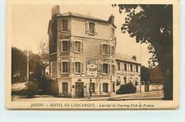 JOIGNY  - Hotel De L'Escargot, Lauréat Du Tourning-club De France. - Joigny