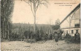 HAUTS DE SEINE 92.PEPINIERES DU VAL D AULNAY LA COUR D EMBALLAGE - Francia